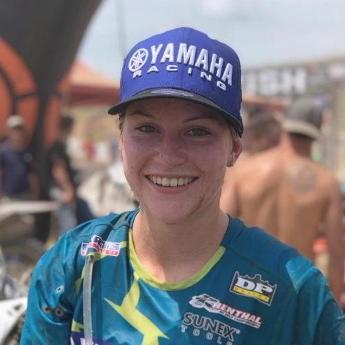Rachael Archer takes her first win in 2020 GNCC WXC Round 8 at High Voltage- huge congrats!