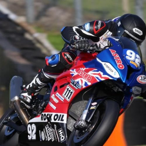 Damon Rees shows what he is made of- digging deep when needed in BSB Round 4 at Oulton Park