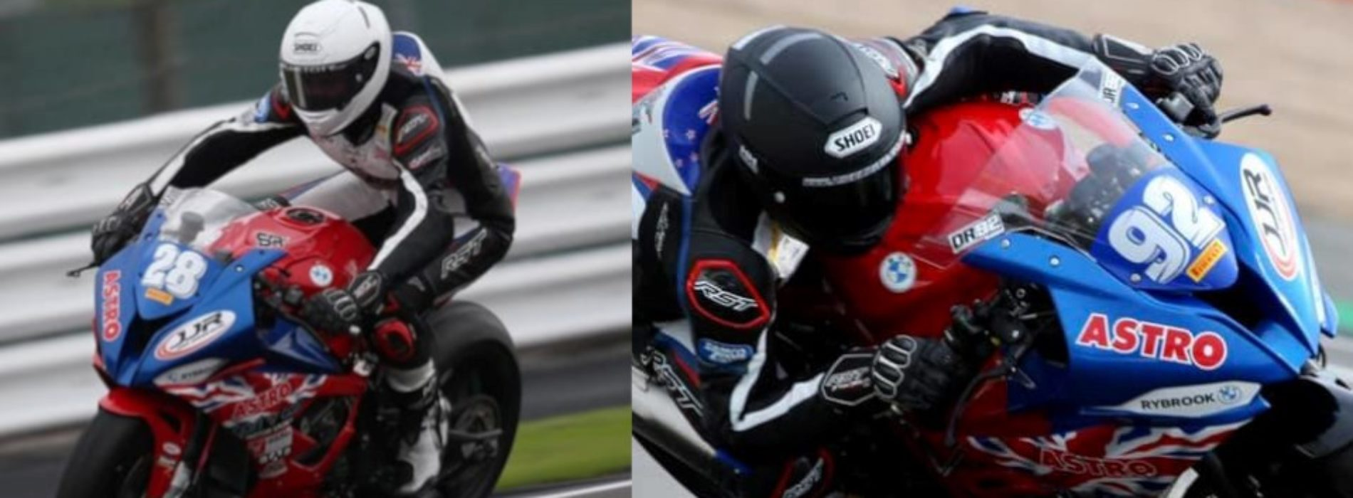 Congrats to Damon Rees and Shane Richardson putting Kiwi racers right up there in Bennetts British SBK Championship Round 3