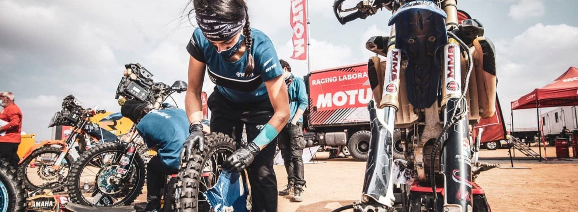 Sara Garcia reaches half-way point in Dakar Rally currently ranked 53rd Overall- truly remarkable!