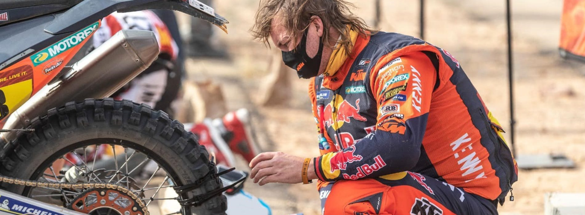 Dakar Rally- the ultimate test of Rider and machine versus terrain under time!