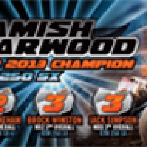 Australia MXD Champion 2013 NZ Hamish Harwood