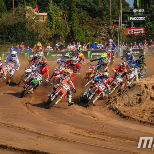 Josiah Natzke closes gap to one point from Overall EMX 125cc