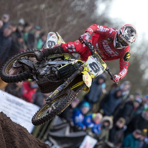Ben Townley's debut 3rd Overall at Hawkstone International MX 2016