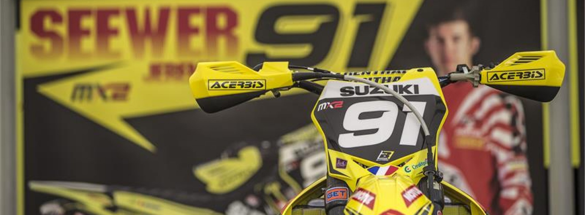 Jeremy Seewer Team Suzuki World MXGP