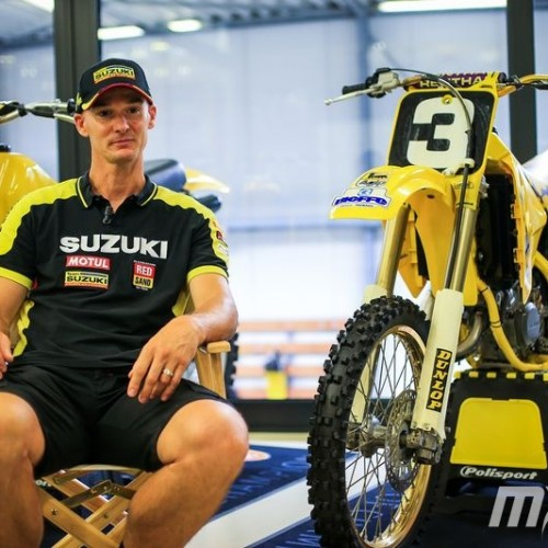 Stefan Everts Team Suzuki World MXGP- Interview with Film Edit