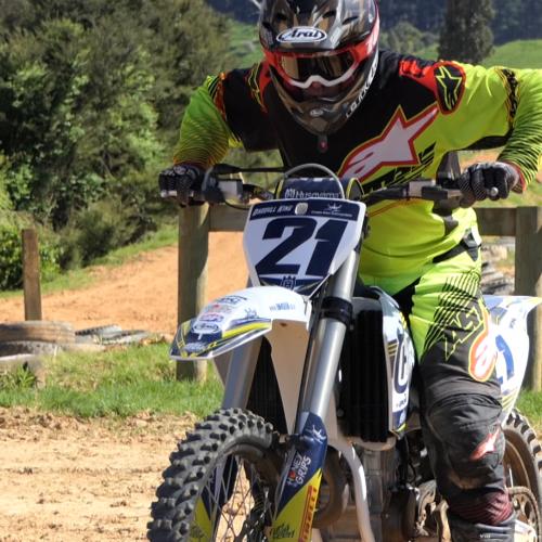Husqvarna Ambassador Australia and NZ Darryll King talks on Motocross tips Trailer