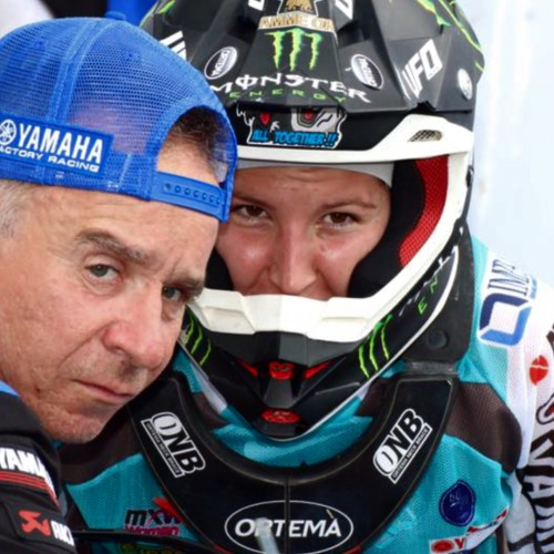 Kiara Fontanesi WMX Champion 5x with Silvio Ziveri