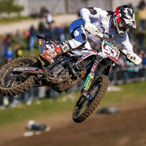 Dylan Walsh MX2 GP Netherlands- banged up, working on being ready for Trentino