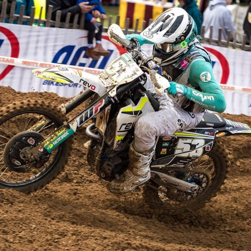 Dylan Walsh- took big hit at MXGP of France- now recovering to race Maxxis British MX Round 4