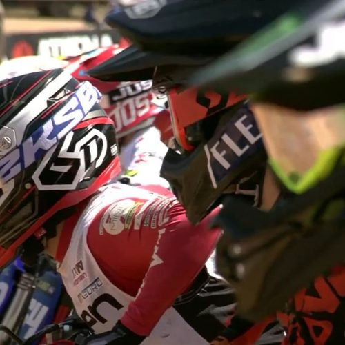 Line Dam scored 3rd podium at EMX Women following WMX Round 2: 7th Overall