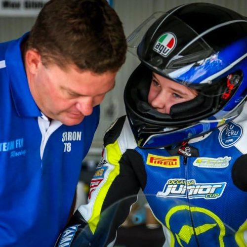 Pyper Kent Australia's up-coming Road Racing talent: how old?