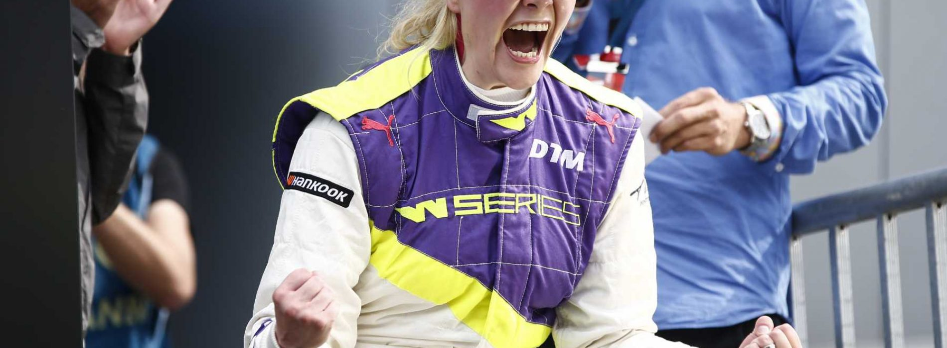 Emma Kimilainen wins WSeries Race 5- remarkable achievement given out for Race 2 and 3 due to injury in Race 1