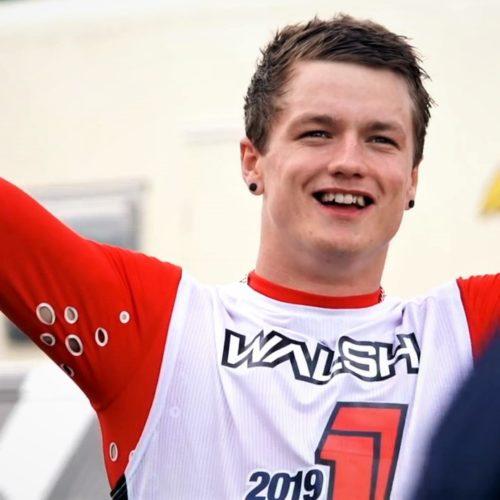 Dylan Walsh wins 2019 British MX2 Championship with superb 1-1 at Final Round at Landrake, UK