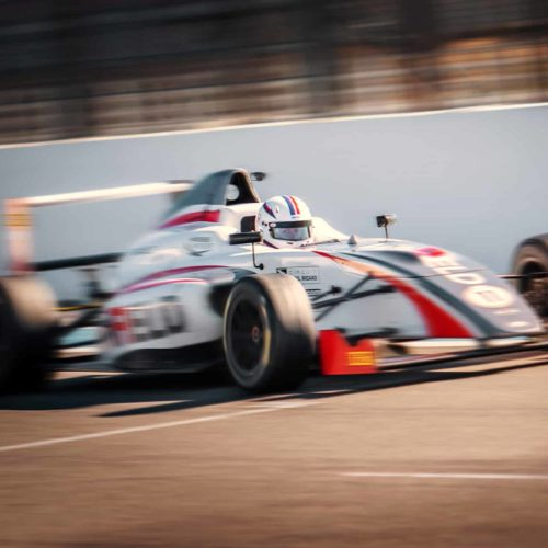 Doriane Pin contests FIA Motorsport Games at just 15 years of age