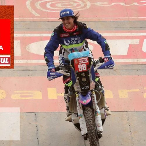 Sara Garcia speaks on racing Dakar Rally 2020 'Original by Motul' class