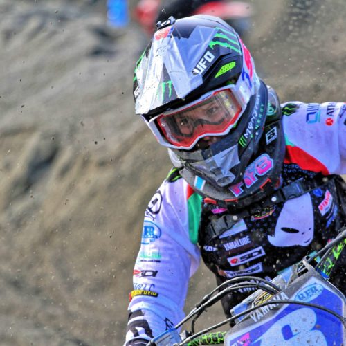 Kiara Fontanesi first race back for the win! Remarkable after giving birth to Skyler on November 26th 2019