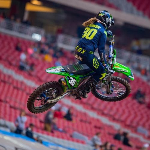 Jordan Jarvis is excited to race WMX 2020 Rounds- plus leads Women's Supercross Futures class