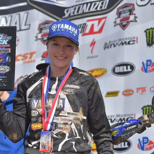Rachael Archer nails 3rd podium at GNCC WXC Opening Round at Big Buck