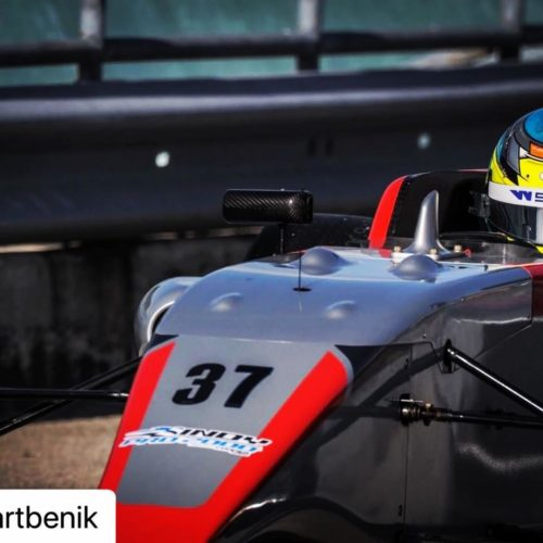 Sabre Cook racing single-seater 2020 WSeries along with Road to Indy Pro 2000 campaign