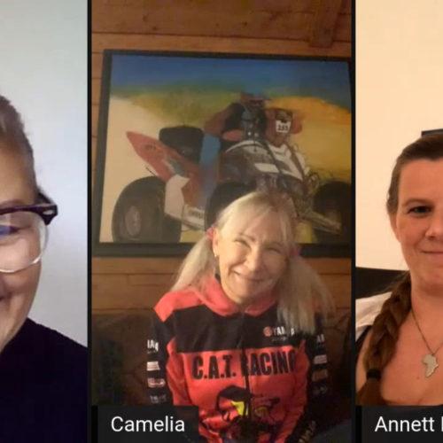 MXLink Live speaks with Camelia Liparoti and Annett Fischer on racing 2020 Dakar Rally