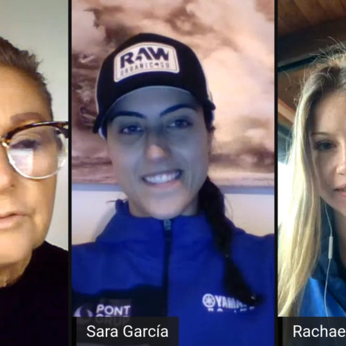 MXLink Live connecting Women in Motorsport invites guests Sara Garcia and Rachael Archer