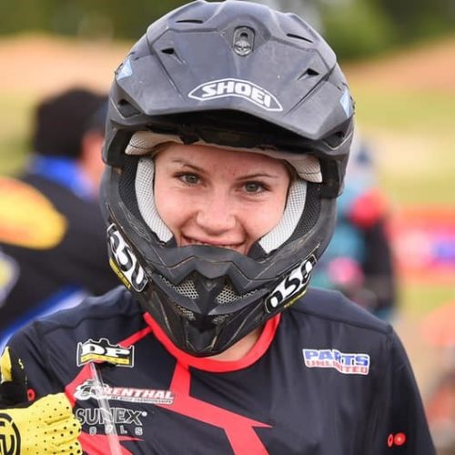 Rachael Archer scores 2nd at GNCC WXC Round 5 at Camp Coker- wow!
