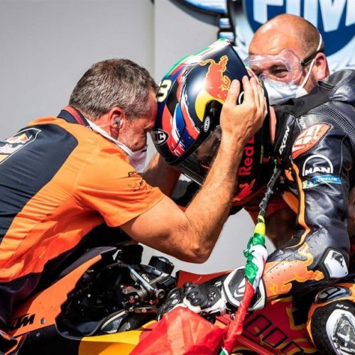 KTM takes historic victory in MotoGP with rookie Brad Binder shutting out the competition at Brno