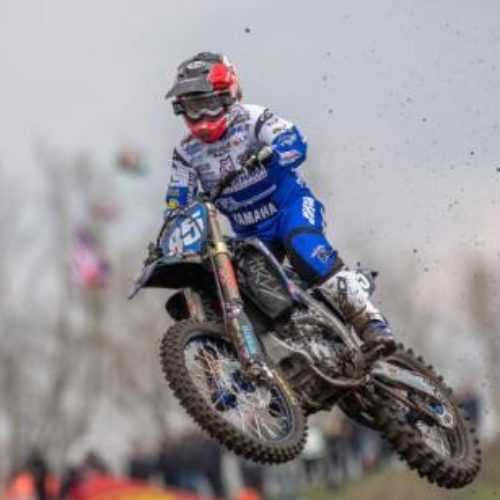 Racing down to the wire in Italian Women MX Championship Round One at the weekend