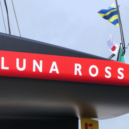 Luna Rossa Prada Pirelli Team launch AC75 in Auckland, NZ- interview with Max Sirena