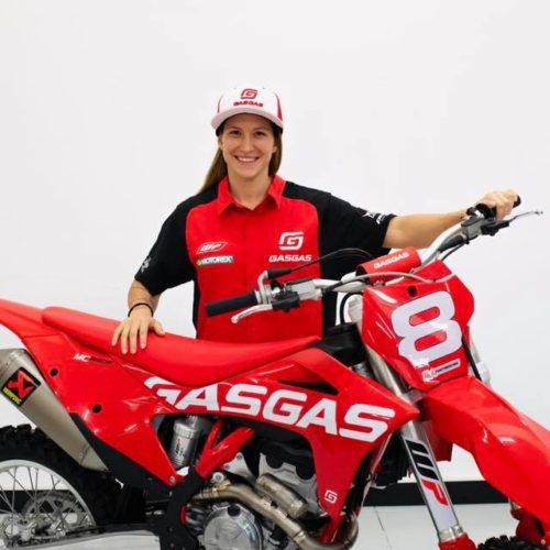 Kiara Fontanesi announces racing WMX 2021 under Gas Gas