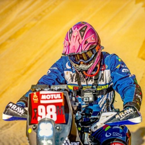 MXLink Live speaks with Sara Garcia on racing up-coming Dakar Rally 2021 in Unassisted Category