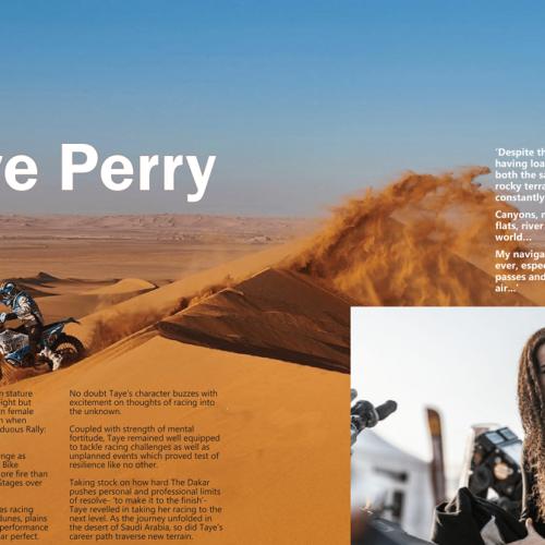 Taye Perry racing 2021 Dakar Rally in Car category with Brian Baragwanath- peek into 2020 Dakar experience!