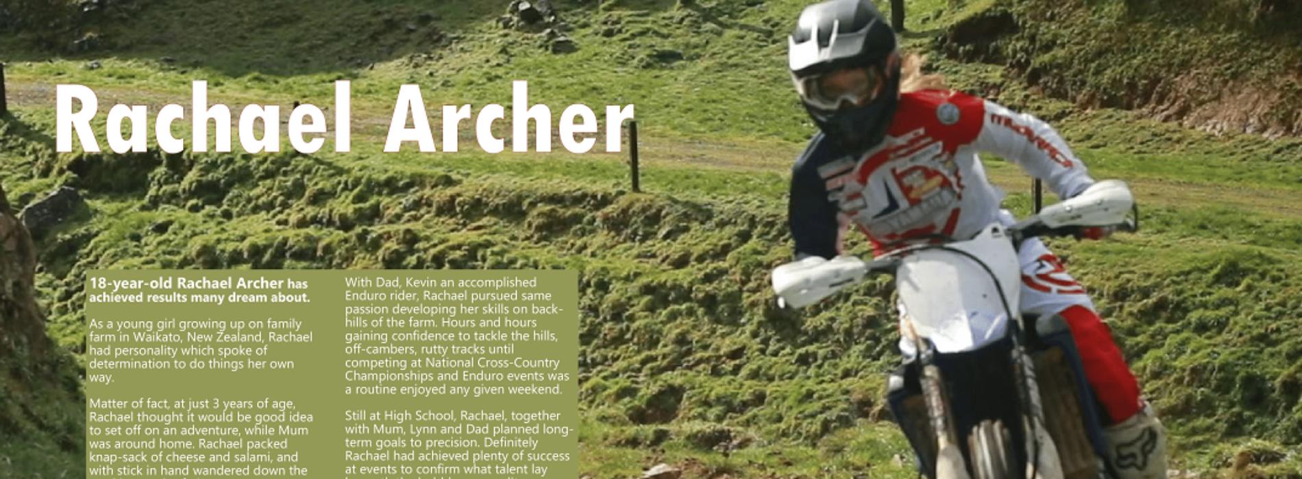 Rachael Archer achieved fantastic results in 2020 GNCC WXC- sneak peek #3 in Women in Motorsport Magazine