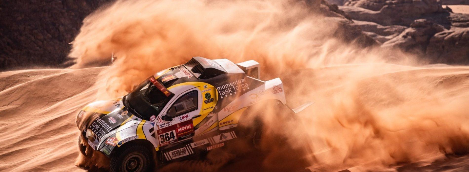Monica Plaza joins her father- Manolo Plaza racing Dakar Rally 2021- Car category