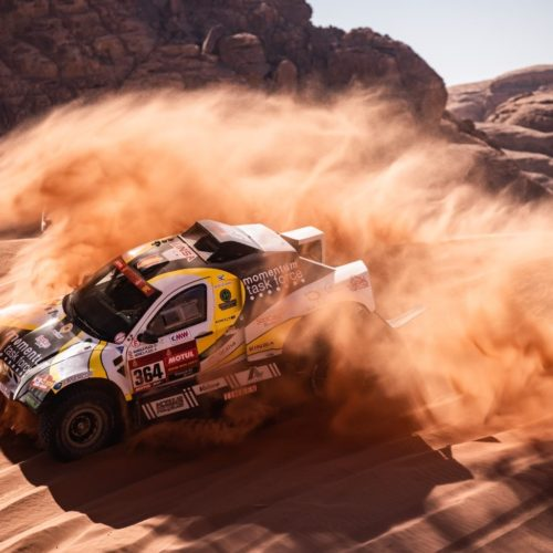 Monica Plaza joins her father- Manolo Plaza racing Dakar Rally 2021- Car category