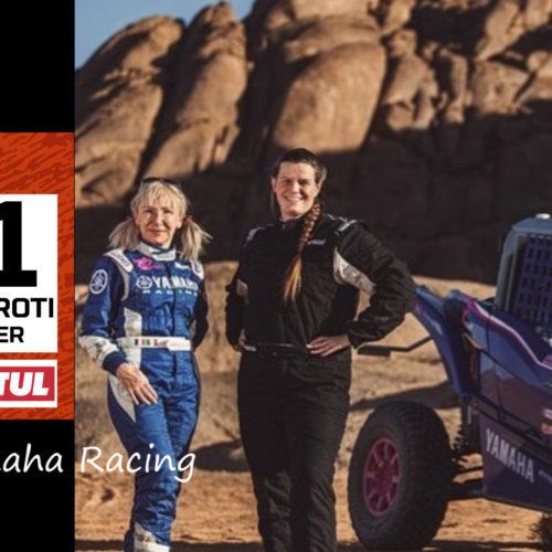 Annett Fischer speaks on racing Dakar Rally 2021 with X Raid Yamaha Racing alongside Camelia Liparoti