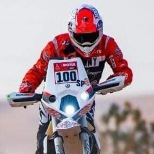 Audrey Rossat completed her first Dakar Rally 2021- huge achievement!