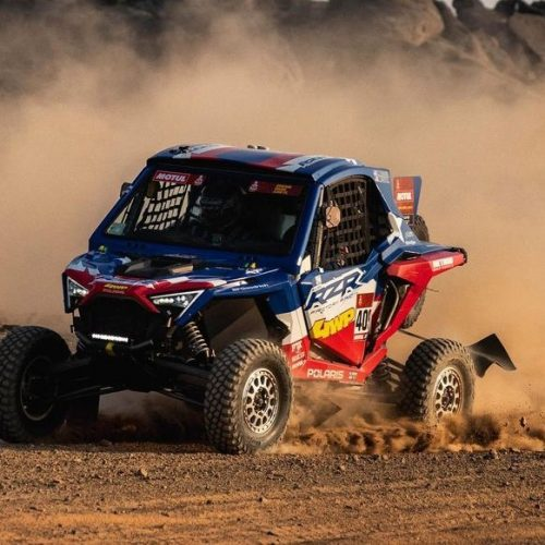 Kristen Matlock commands ultimate respect for racing Dakar Rally 2021 with Polaris RZR Factory Racing Team