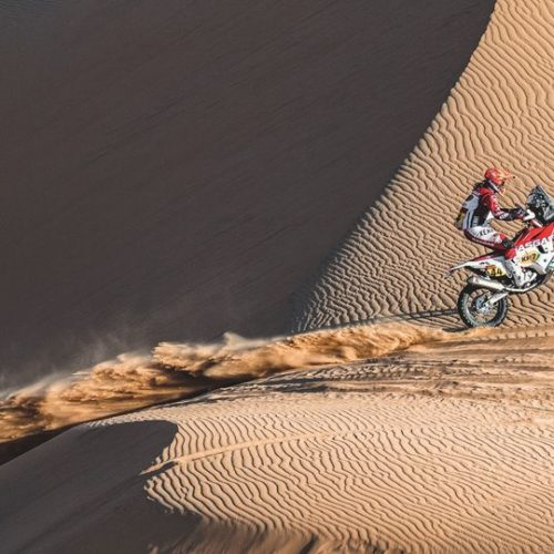 Women racing Dakar Rally Stage 3- maintaining racing rhythm to complete each Stage.