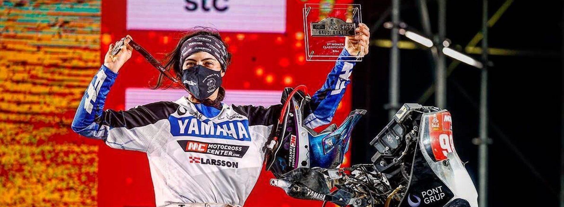 Sara Garcia- only female to race and finish Dakar Rally Malle Moto 2021