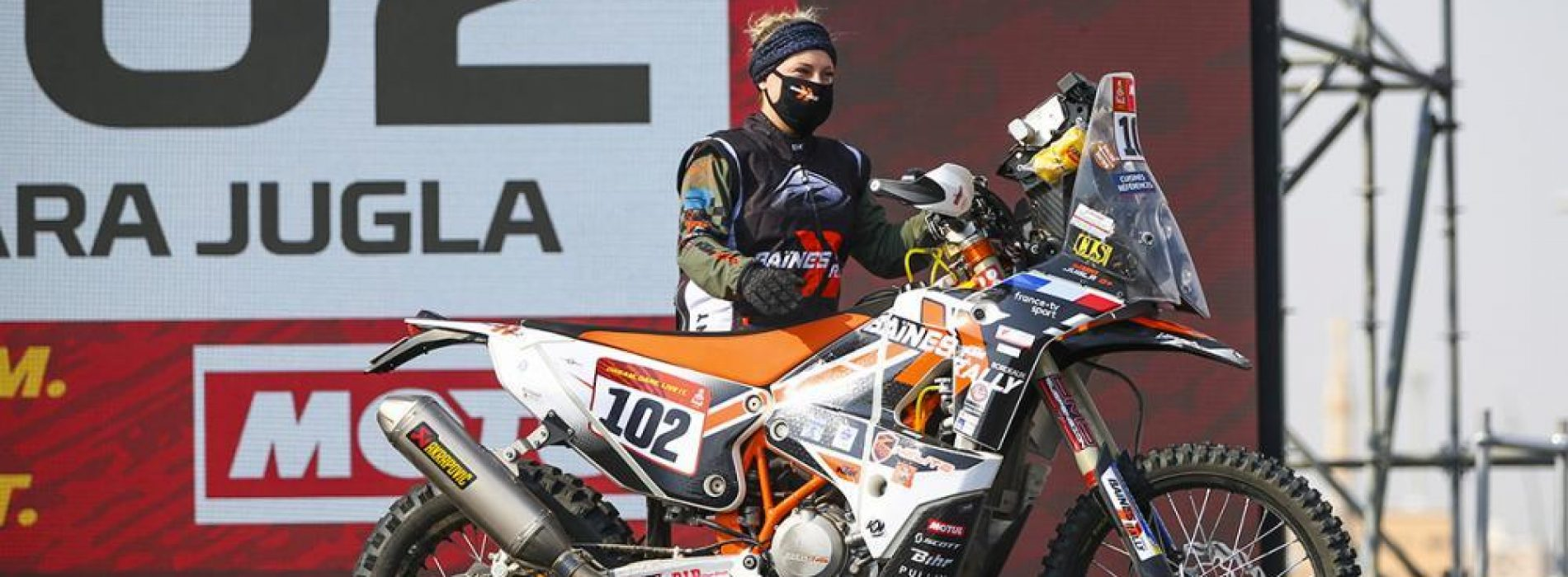 Sara Jugla raced Dakar Rally 2021 for the first time- what an experience!