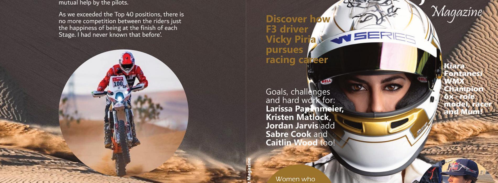Women in Motorsport Magazine Issue One- on sale now!