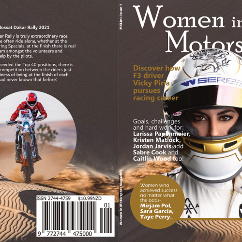 Women in Motorsport Magazine Issue One- on sale now!