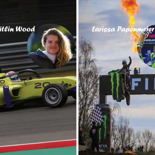 MXLink Live speaks with Larissa Papenmeier and Caitlin Wood on promotion of Women in Motorsport Magazine