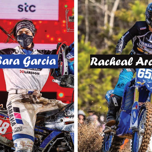 MXLink Live speaks with Sara Garcia and Rachael Archer on promotion in Women in Motorsport Magazine