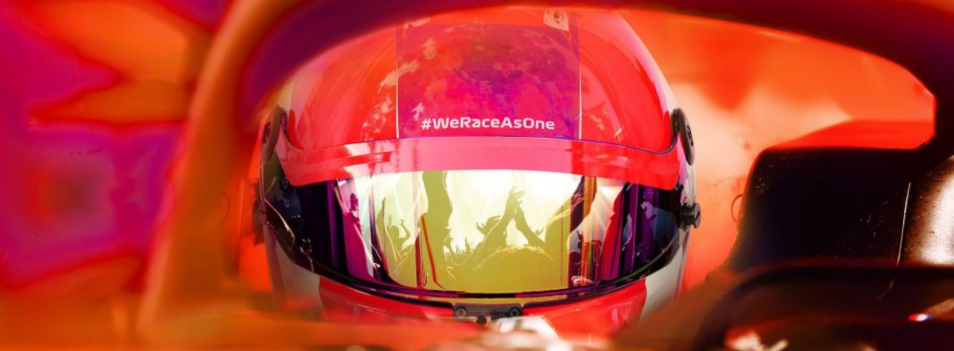 WeRaceAsOne: Formula One makes changes in sustainability, equality and community.