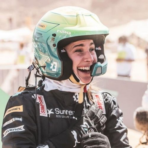 MXLink Live speaks with Molly Taylor on racing and winning Extreme E Desert X Prix with Rosberg X Racing