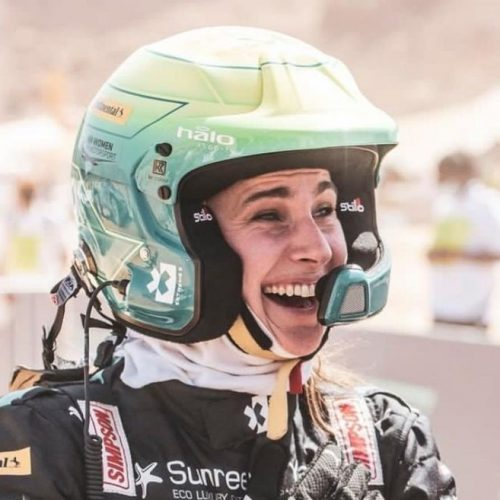 Molly Taylor beams with pride at having raced and won Extreme E Desert X Prix- catch-up interview post racing