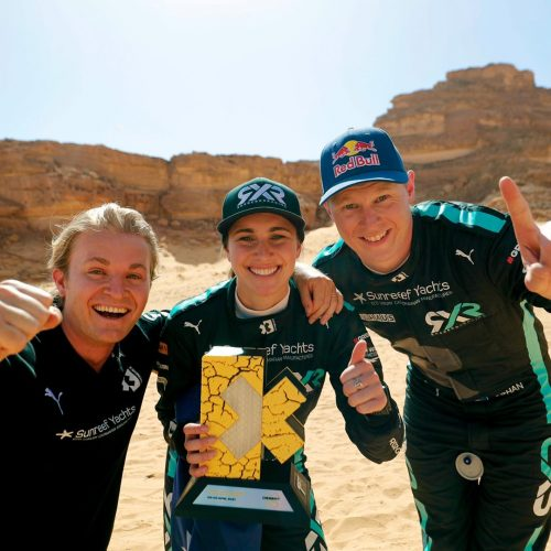 Rosberg X Racing wins Extreme E Round One – driver's Molly Taylor and Johan Kristofferssen outstanding